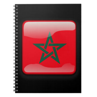 Flag of Morocco Spiral Notebooks