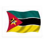 Flag of Mozambique Post Cards