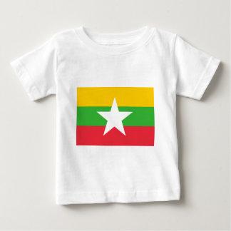Flag_of_Myanmar Baby T-Shirt