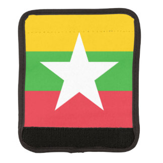 Flag of Myanmar Luggage Handle Wrap