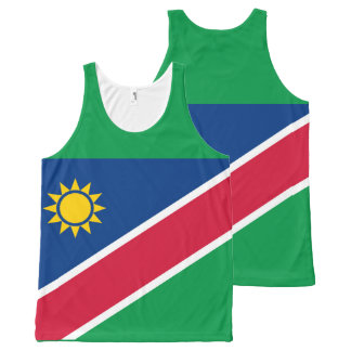 Flag of Namibia All-Over-Print Tank Top