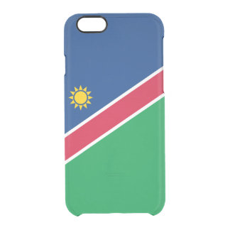 Flag of Namibia Clear iPhone Case