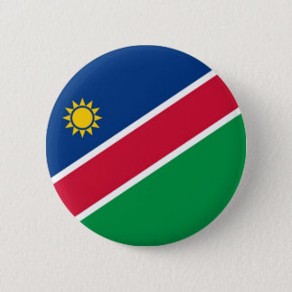 Flag of Namibia on Pin / Button Badge