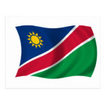 Flag of Namibia Post Card
