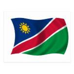 Flag of Namibia Postcard