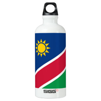 Flag of Namibia Water Bottle