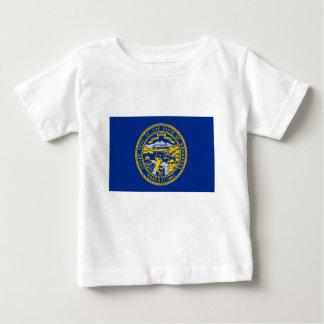 Flag Of Nebraska Baby T-Shirt