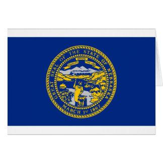 Flag Of Nebraska Card