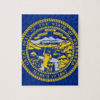 Flag Of Nebraska Jigsaw Puzzle