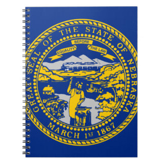 Flag Of Nebraska Notebook