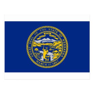 Flag Of Nebraska Postcard