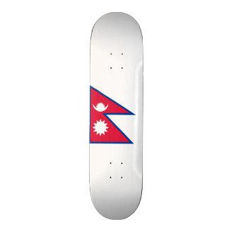 Flag of Nepal Skateboard Deck