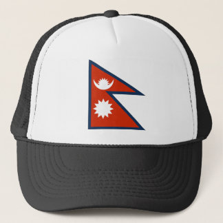 Flag of Nepal Trucker Hat