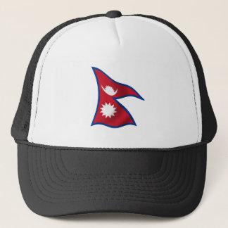Flag of Nepal Trucker Hat