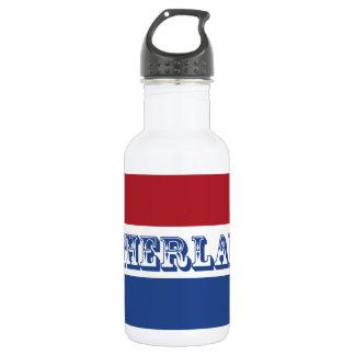 Flag of Netherlands 532 Ml Water Bottle
