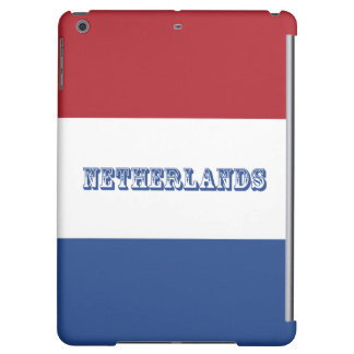 Flag of Netherlands iPad Air Cover