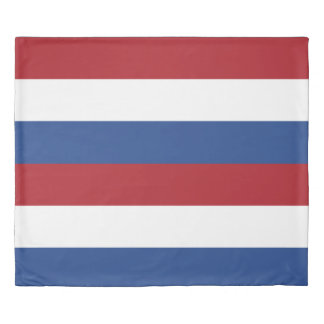 Flag of Netherlands King Duvet Cover