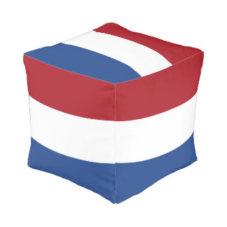 Flag of Netherlands Pouf