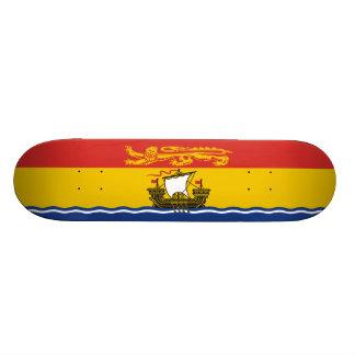 Flag of New Brunswick Skateboard Deck