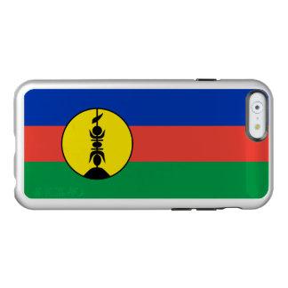 Flag of New Caledonia Silver iPhone Case Incipio Feather® Shine iPhone 6 Case
