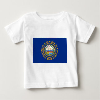 Flag Of New Hampshire Baby T-Shirt