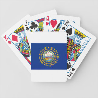 Flag Of New Hampshire Bicycle Playing Cards