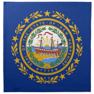 Flag Of New Hampshire Napkin