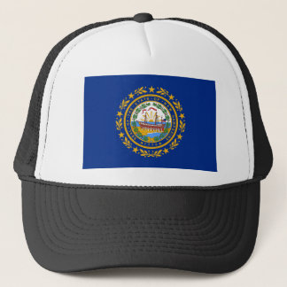 Flag Of New Hampshire Trucker Hat