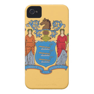 Flag Of New Jersey iPhone 4 Case-Mate Case