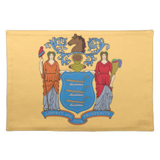 Flag Of New Jersey Placemat