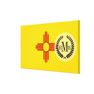 Flag of New Mexico Canvas Print