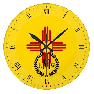 Flag of New Mexico Clock