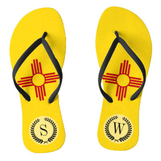 Flag of New Mexico Flip Flops