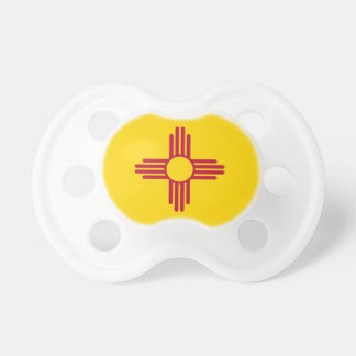 Flag Of New Mexico Pacifier