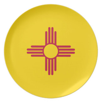 Flag Of New Mexico Plate