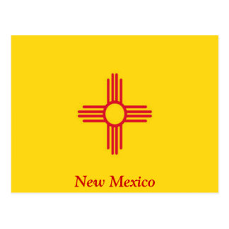 Flag of New Mexico Postcard
