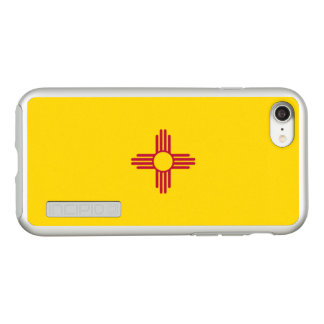 Flag of New Mexico Silver iPhone Case