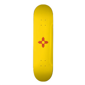 Flag of New Mexico Skateboard Deck