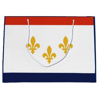 Flag of New Orleans Gift Bag