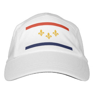Flag of New Orleans, Louisiana Hat
