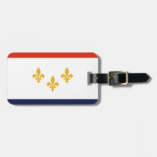 Flag of New Orleans, Louisiana Luggage Tag