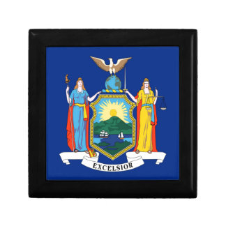 Flag Of New York Gift Box