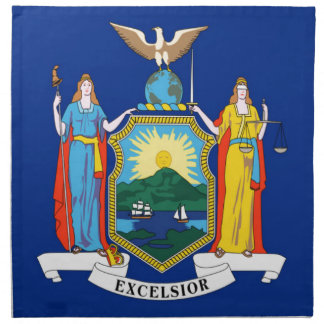 Flag Of New York Napkin