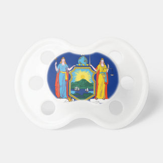 Flag Of New York Pacifier