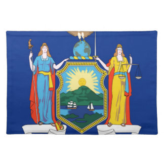 Flag Of New York Placemat
