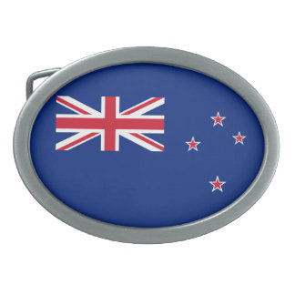 Flag of New Zealand Belt Buckle