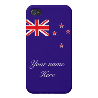 Flag of New Zealand Case For iPhone 4