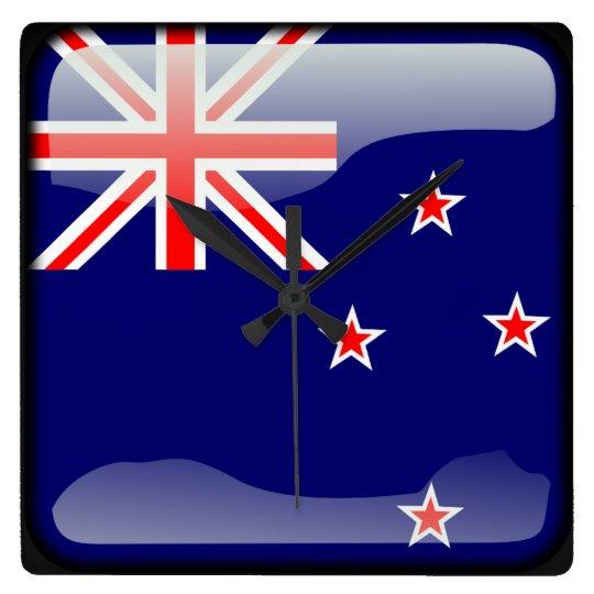 Flag of New Zealand Clocks