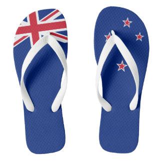 Flag of New Zealand Flip Flops