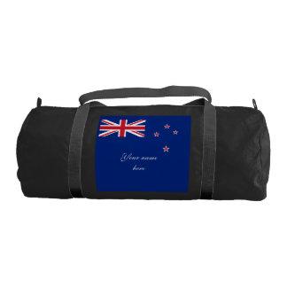 Flag of New Zealand Gym Bag